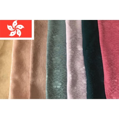 A case of commissioned procurement cooperation of HK polyester cotton dyed fabrics