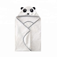 Flannel Baby Hooded Towel For Newborns And Babies Ultra Soft And Super Absorbent Toddler Hooded Bath Towel With Cute Bear Face